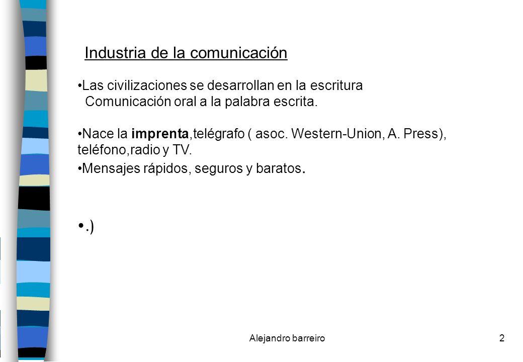 Industria de la comunicación