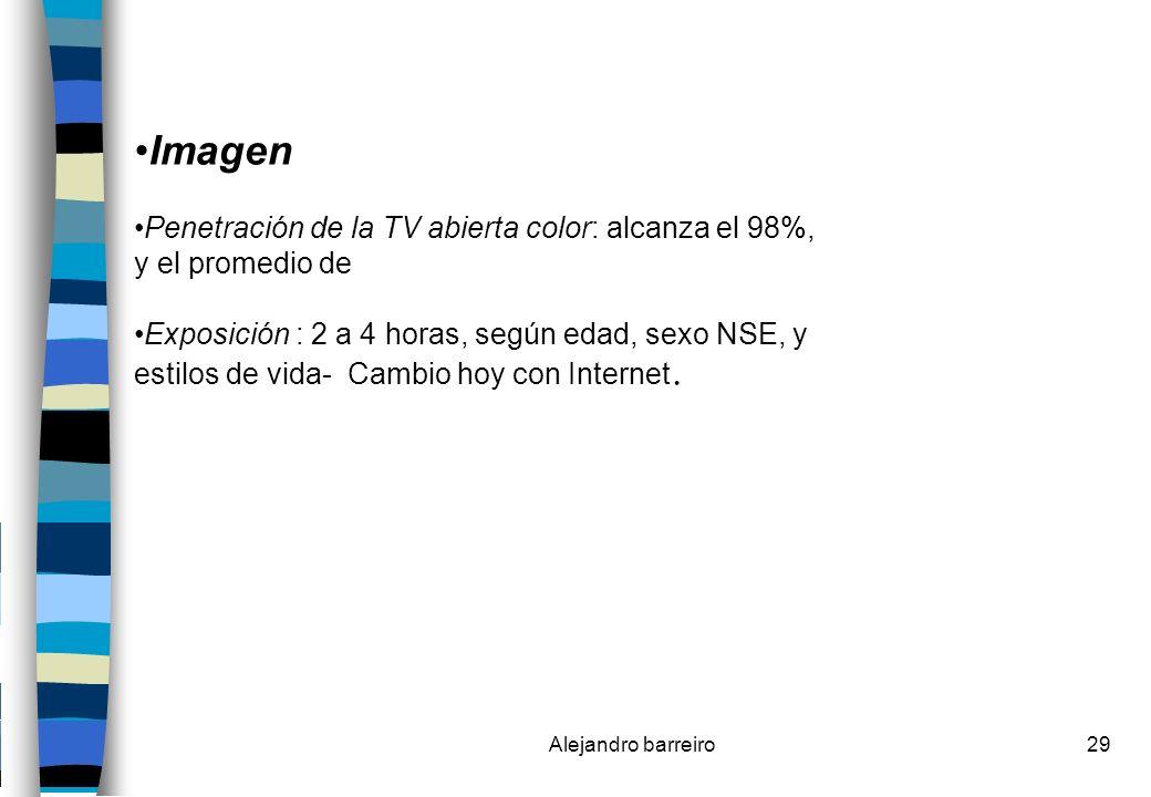 Imagen Penetración de la TV abierta color: alcanza el 98%,