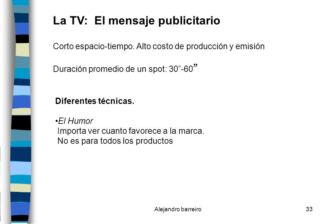 La TV: El mensaje publicitario