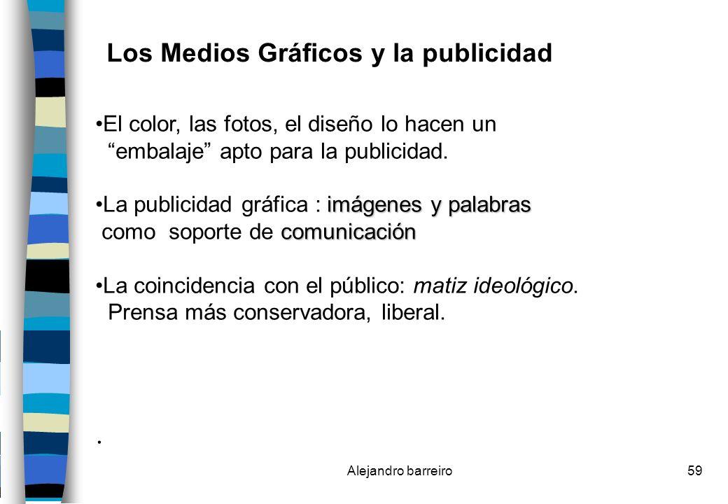 Los Medios Gráficos y la publicidad