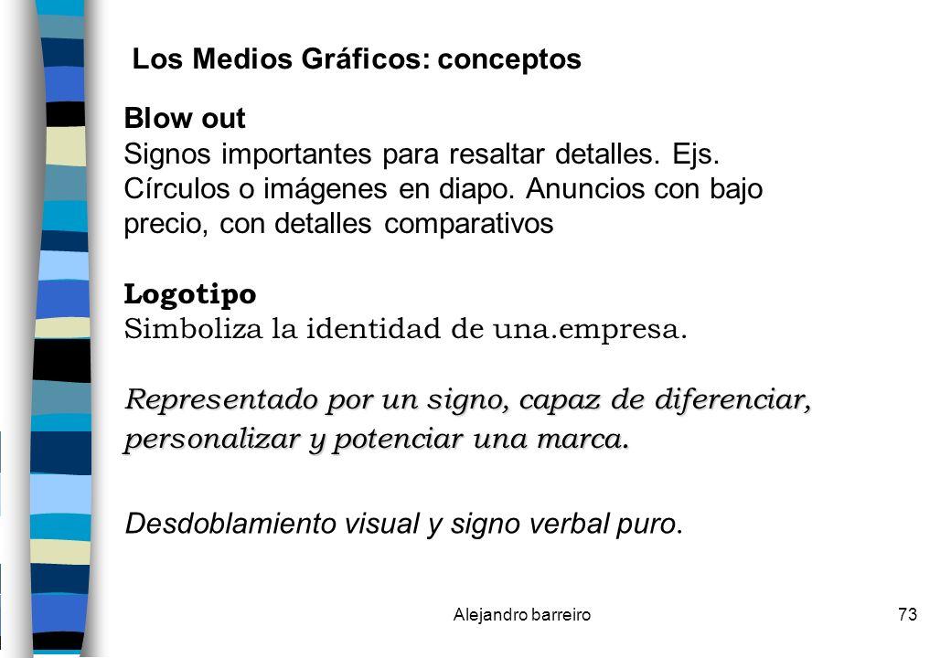 Los Medios Gráficos: conceptos