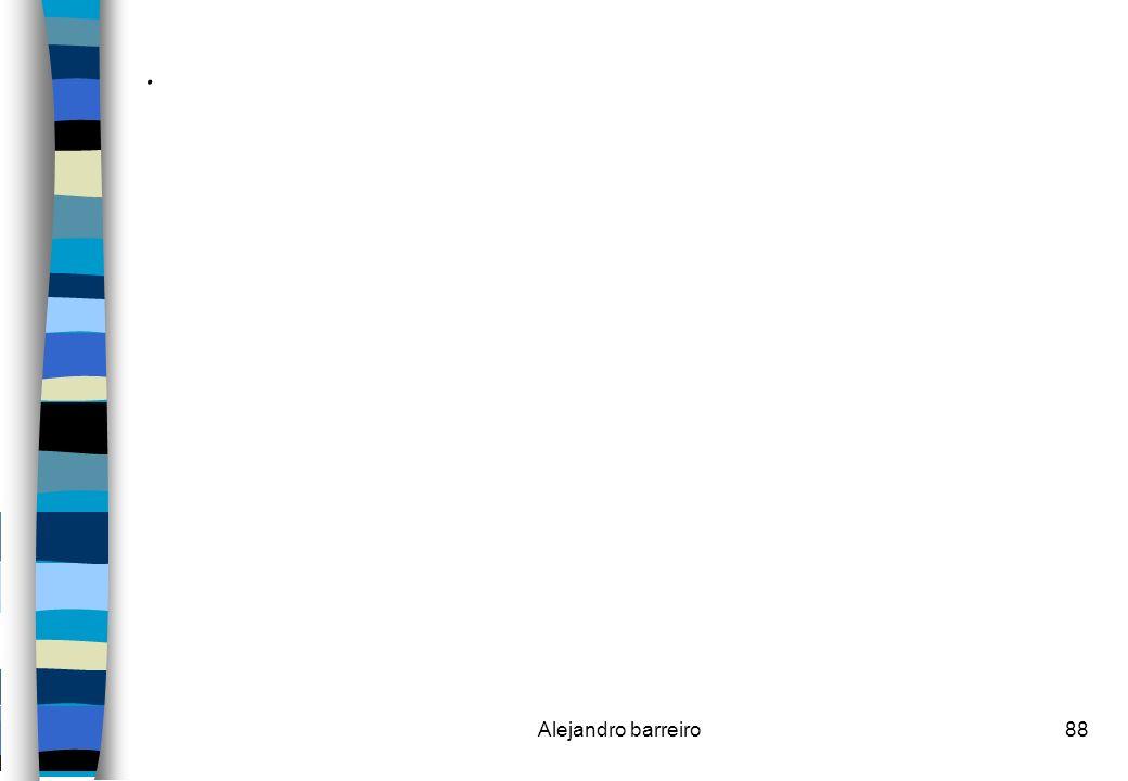 . Alejandro barreiro