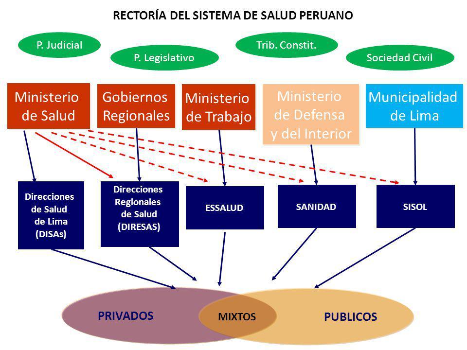 RECTORÍA DEL SISTEMA DE SALUD PERUANO