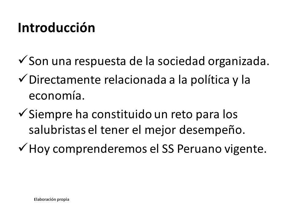 Introducción Son una respuesta de la sociedad organizada.