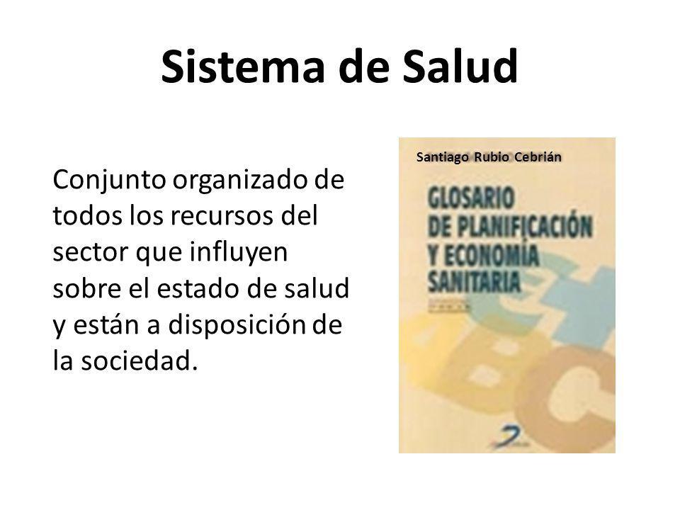 Sistema de Salud Santiago Rubio Cebrián.