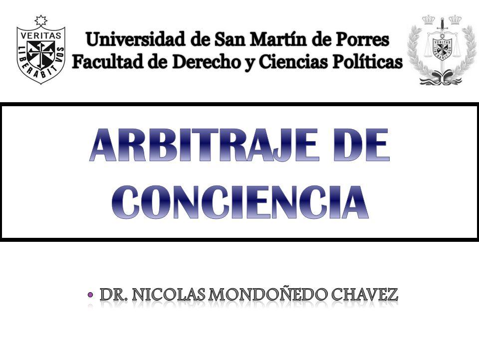ARBITRAJE DE CONCIENCIA