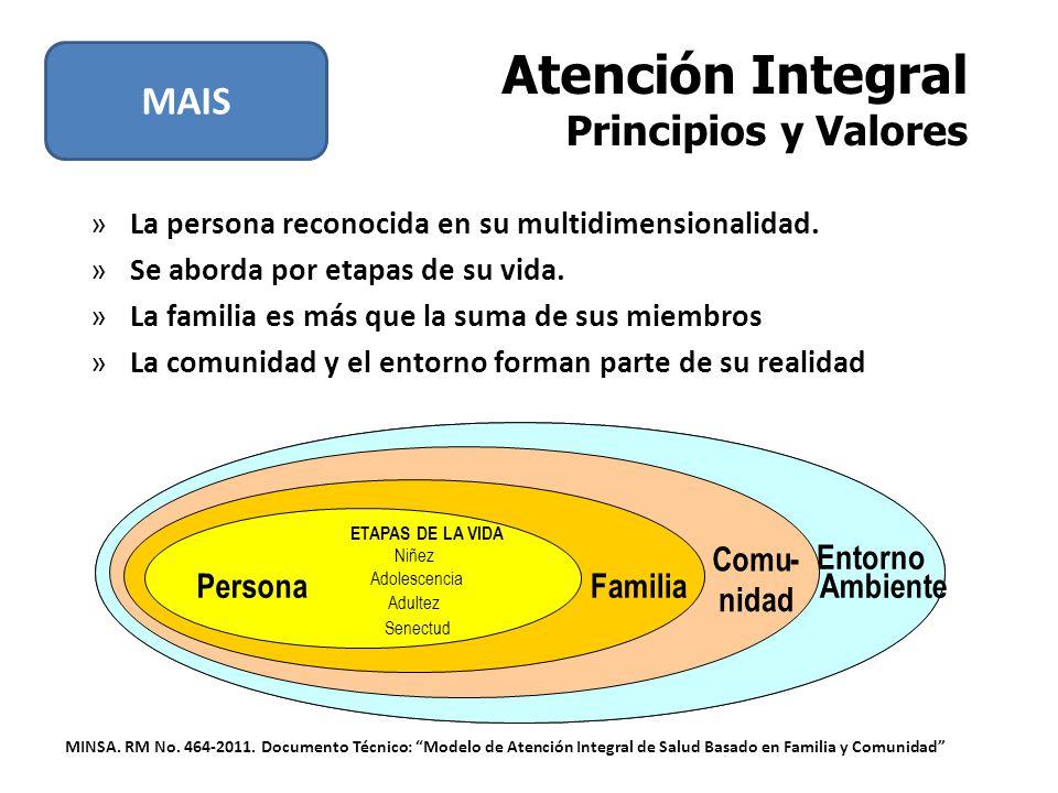 Atención Integral Principios y Valores