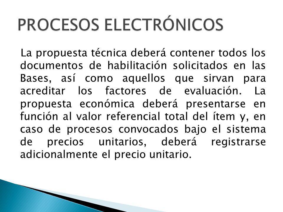 PROCESOS ELECTRÓNICOS