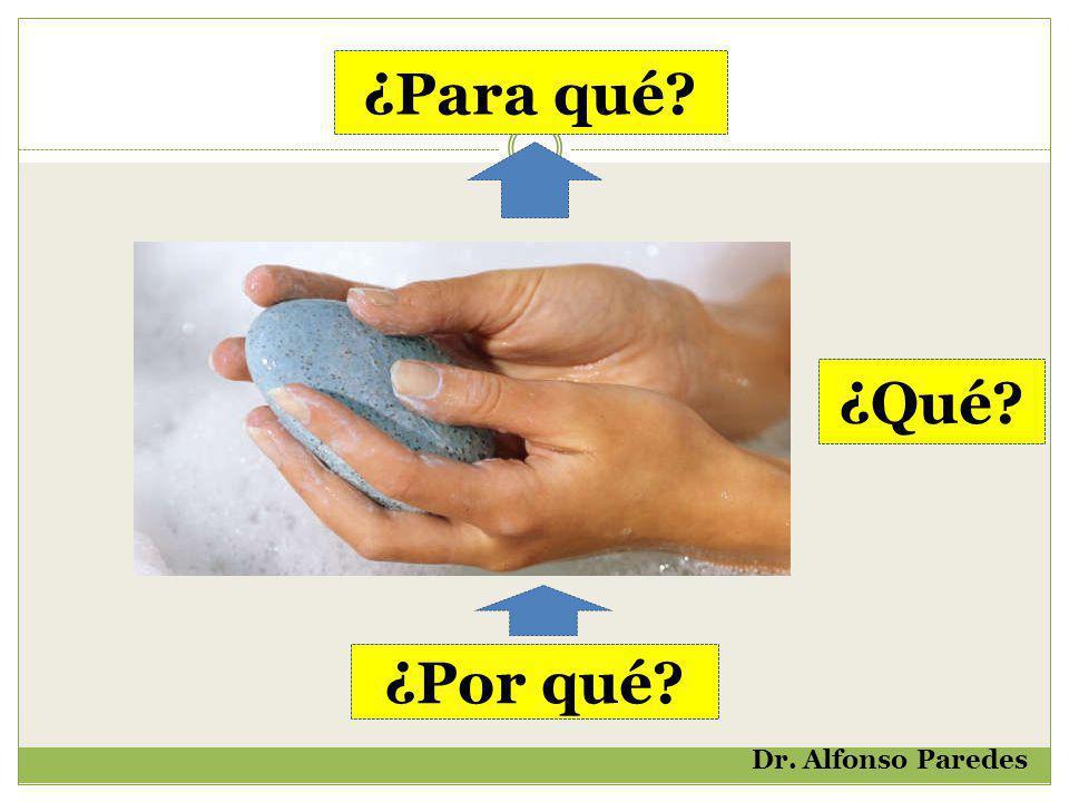 ¿Para qué ¿Qué ¿Por qué Dr. Alfonso Paredes