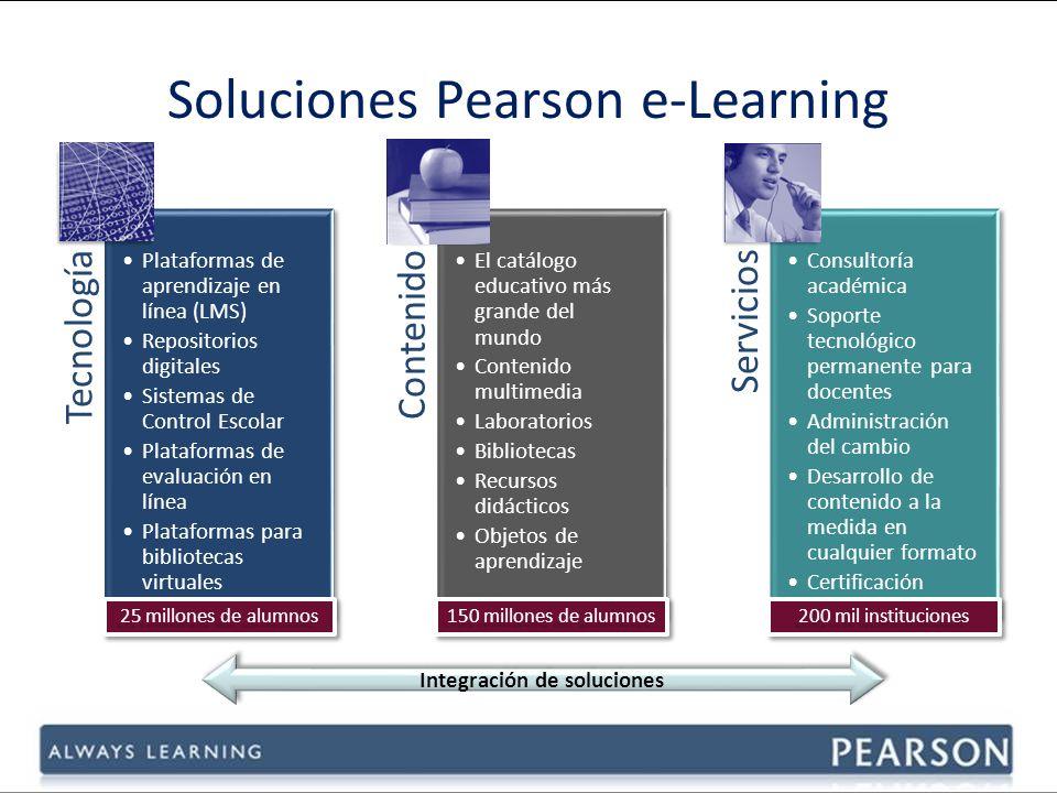 Soluciones Pearson e-Learning