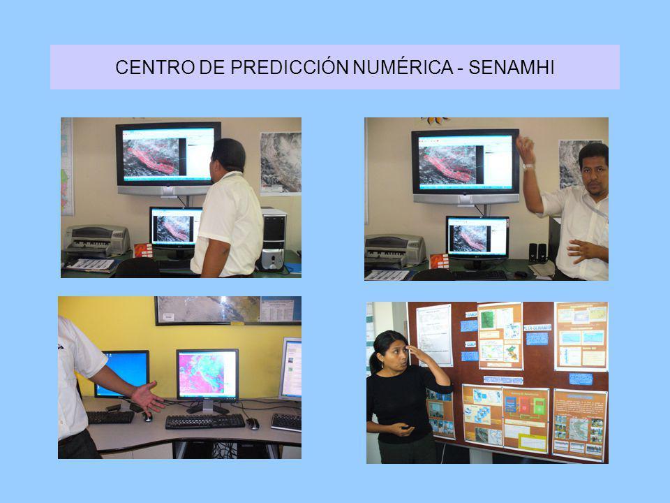 CENTRO DE PREDICCIÓN NUMÉRICA - SENAMHI