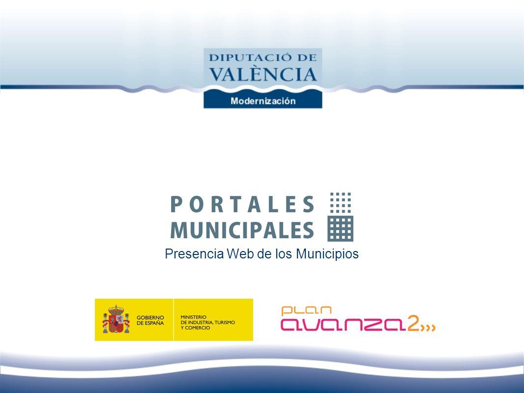 Presencia Web de los Municipios