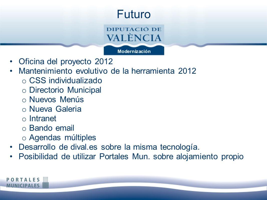 Futuro Oficina del proyecto 2012