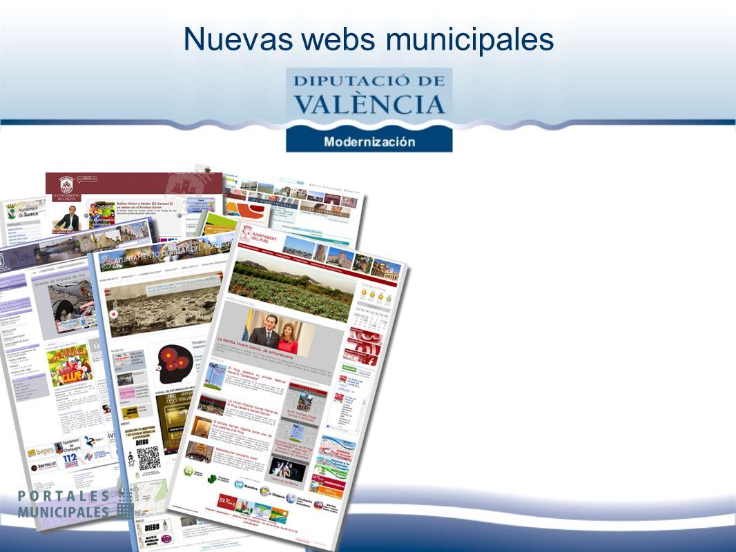 Nuevas webs municipales