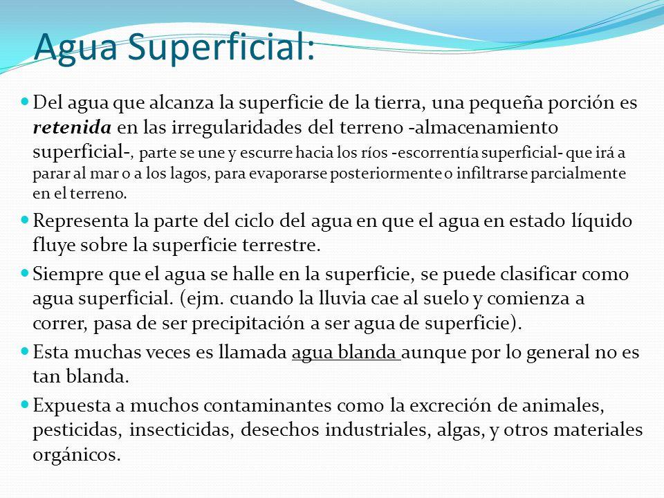 Agua Superficial: