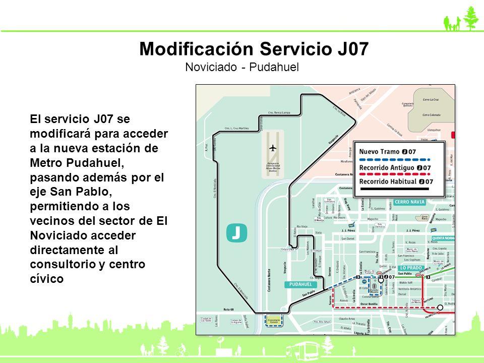 Modificación Servicio J07