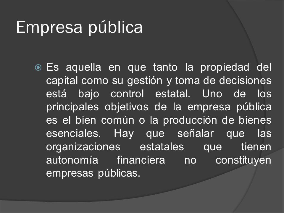 Empresa pública