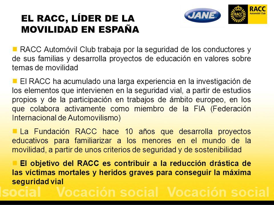EL RACC, LÍDER DE LA MOVILIDAD EN ESPAÑA