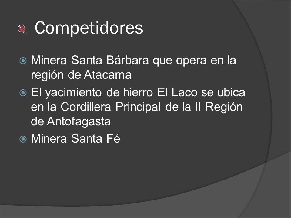 Competidores Minera Santa Bárbara que opera en la región de Atacama