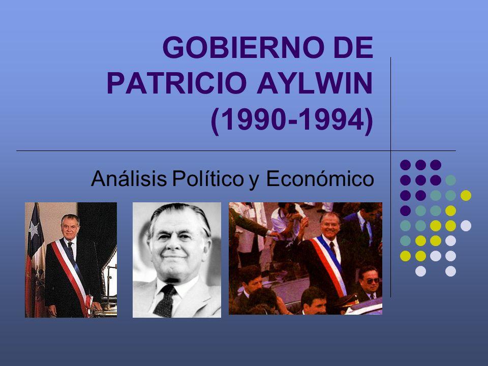 GOBIERNO DE PATRICIO AYLWIN (1990-1994)