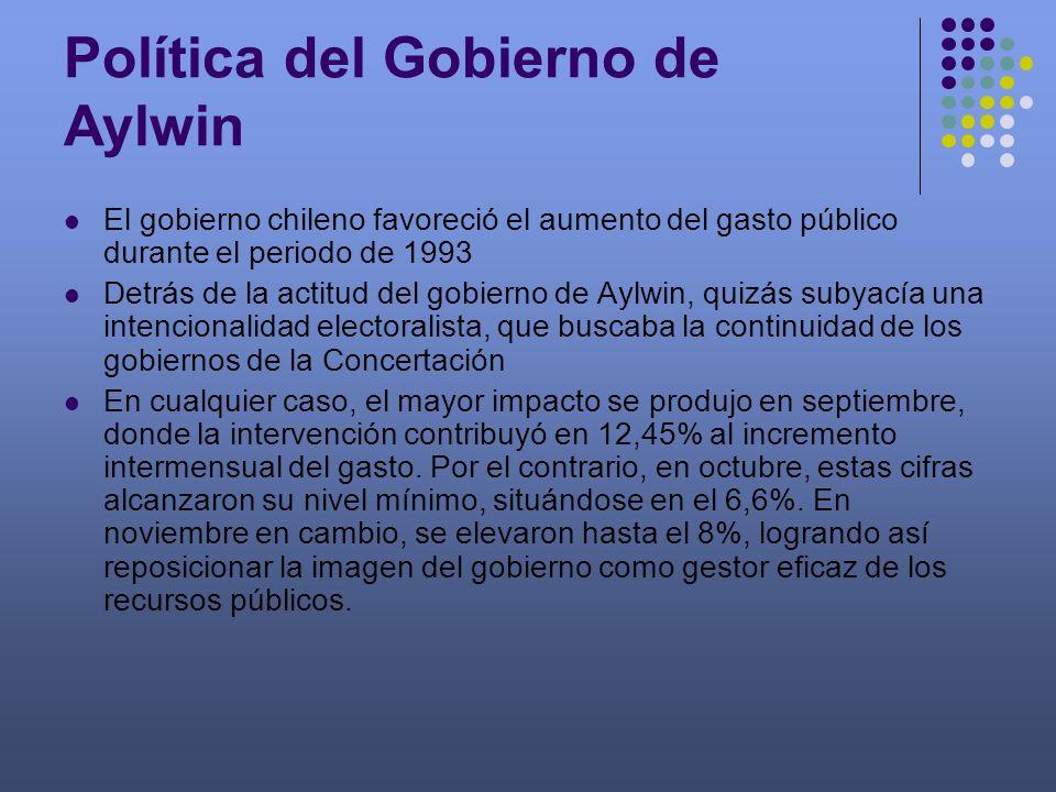 Política del Gobierno de Aylwin