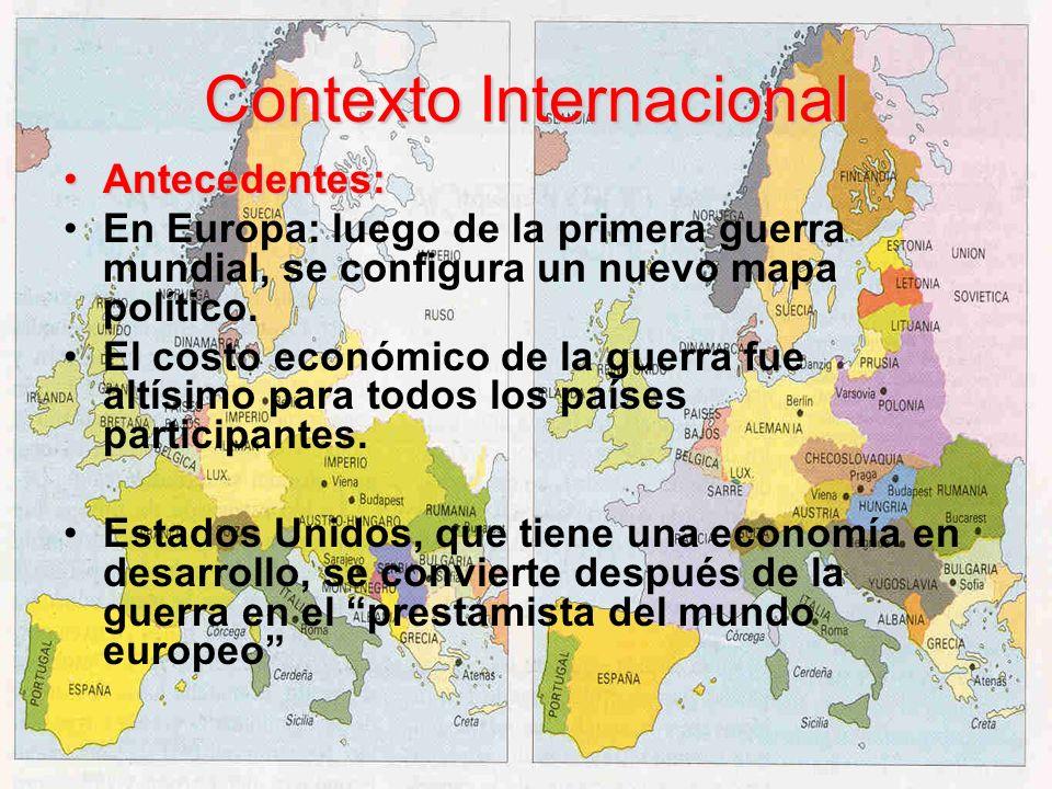 Contexto Internacional