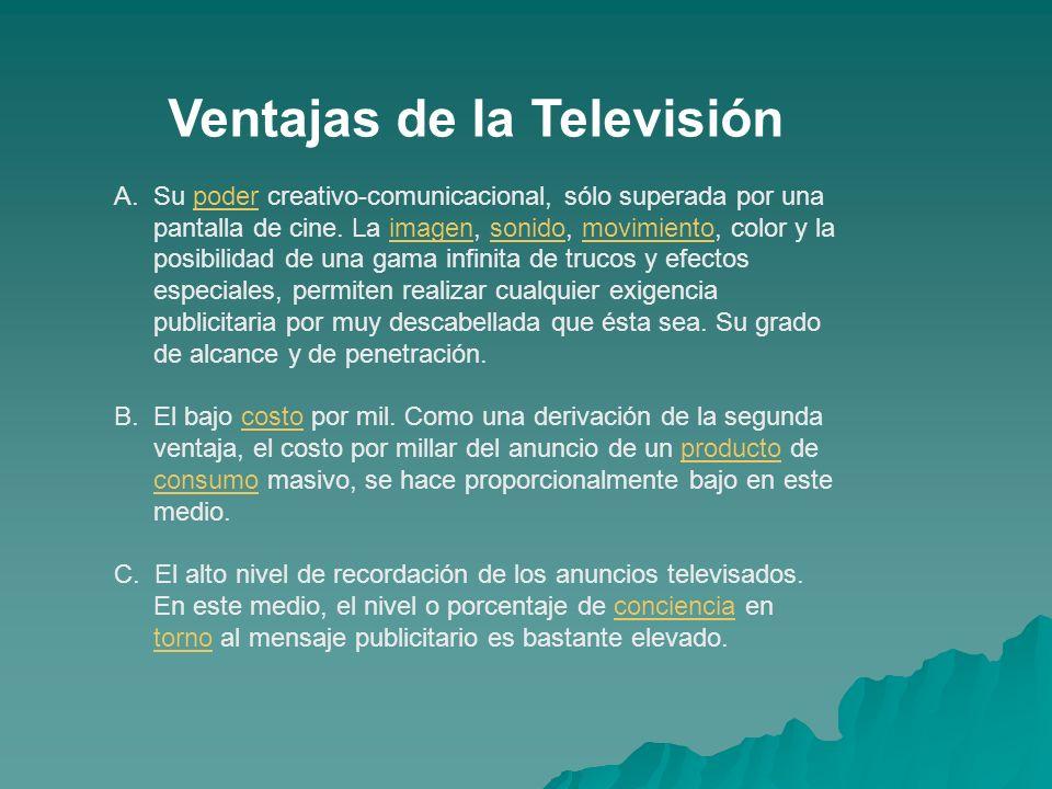Ventajas de la Televisión