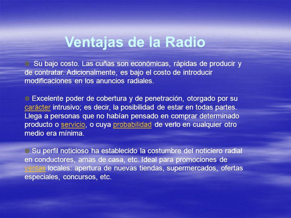 Ventajas de la Radio