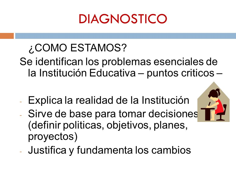 DIAGNOSTICO ¿COMO ESTAMOS