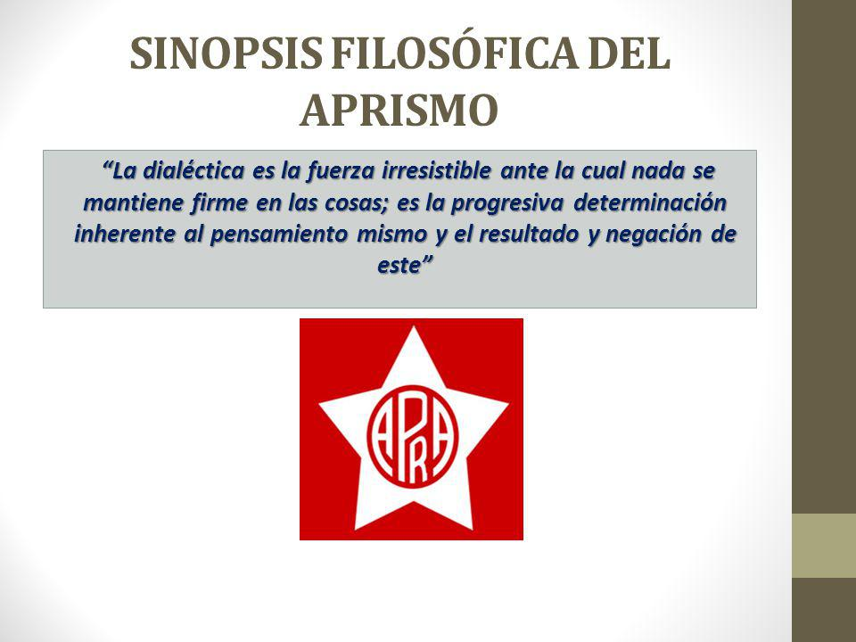 SINOPSIS FILOSÓFICA DEL APRISMO