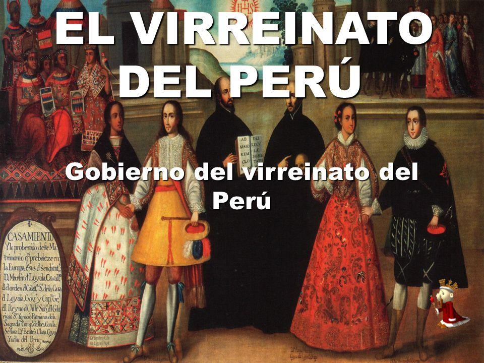 Gobierno del virreinato del Perú