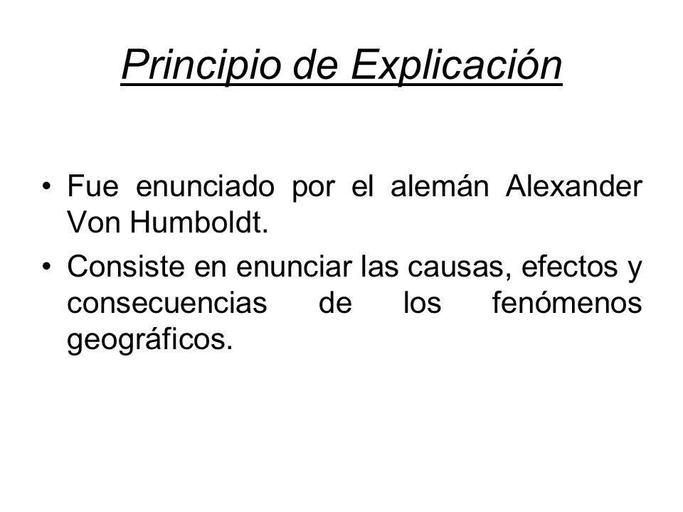 Principio de Explicación
