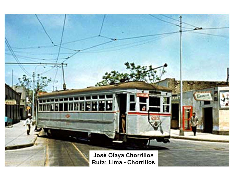 Ruta: Lima - Chorrillos