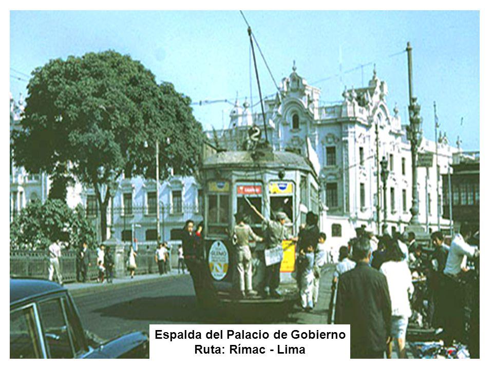 Espalda del Palacio de Gobierno