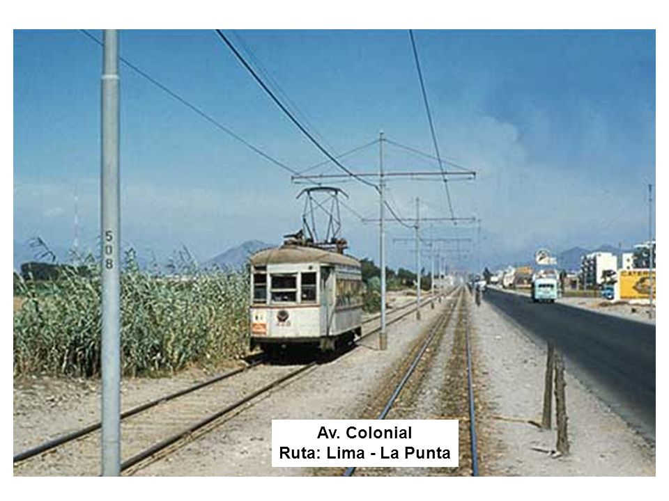 Av. Colonial Ruta: Lima - La Punta