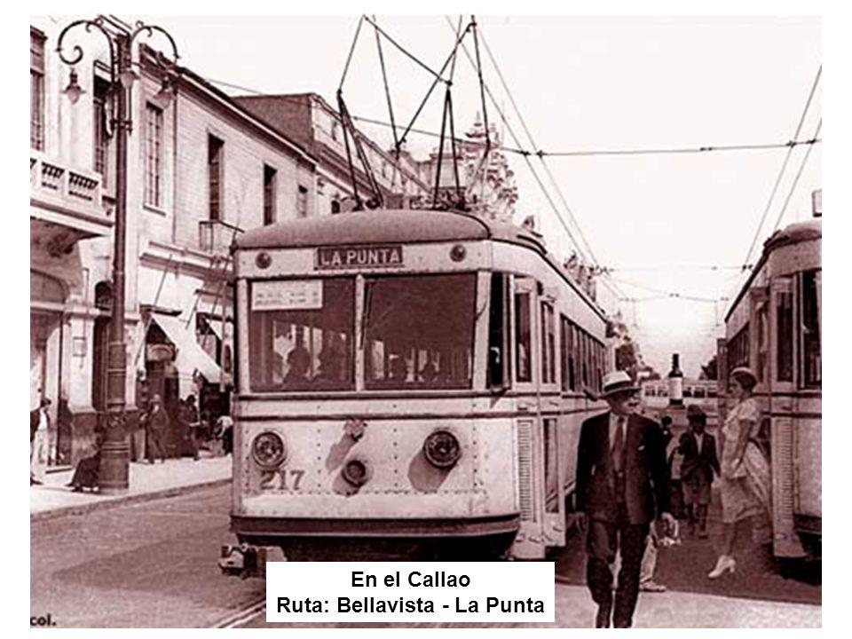 Ruta: Bellavista - La Punta