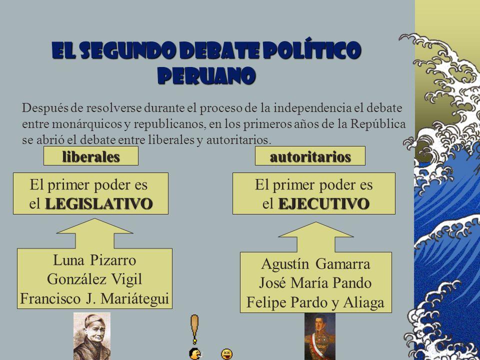 El segundo debate político peruano