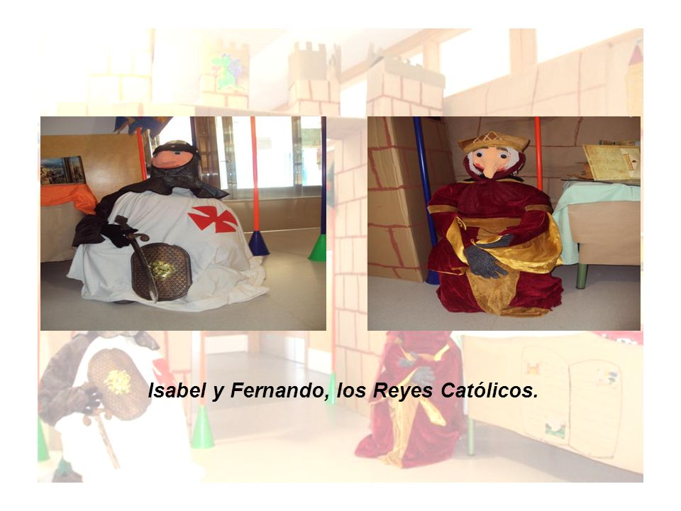 Isabel y Fernando, los Reyes Católicos.