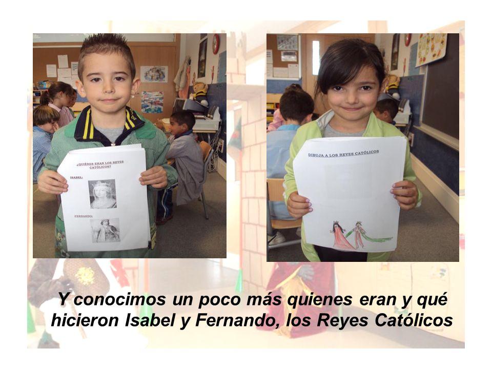Y conocimos un poco más quienes eran y qué hicieron Isabel y Fernando, los Reyes Católicos