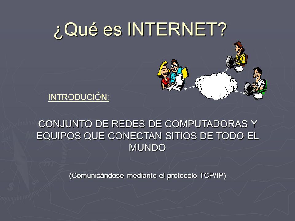 (Comunicándose mediante el protocolo TCP/IP)