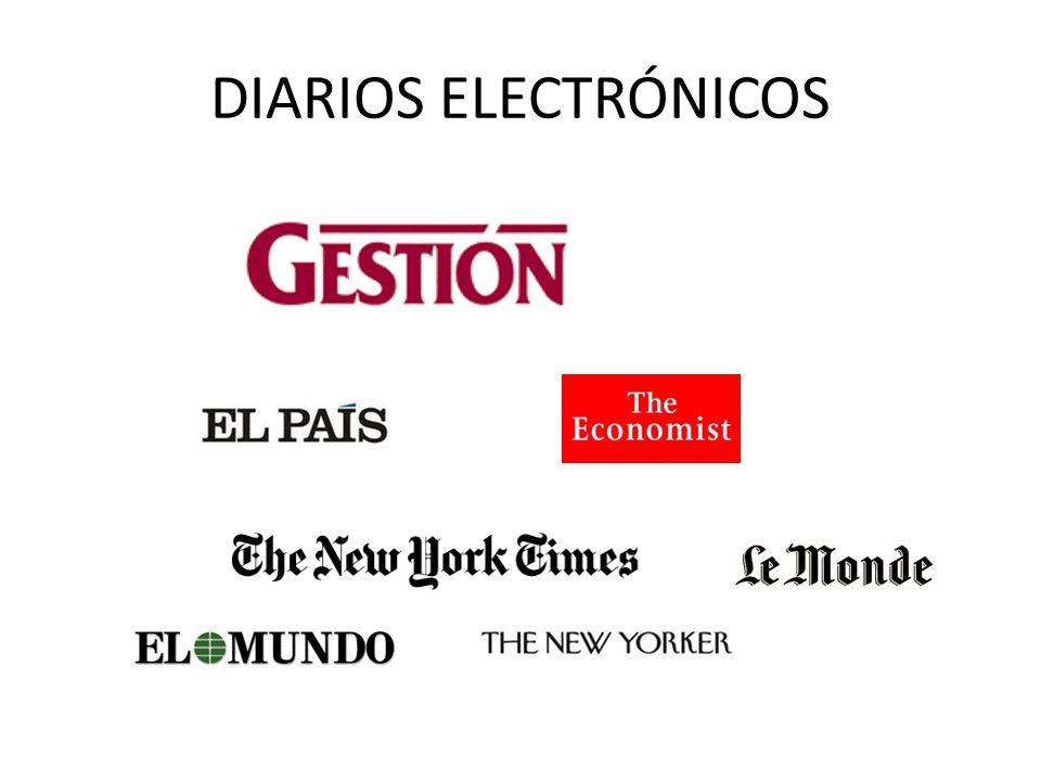 DIARIOS ELECTRÓNICOS