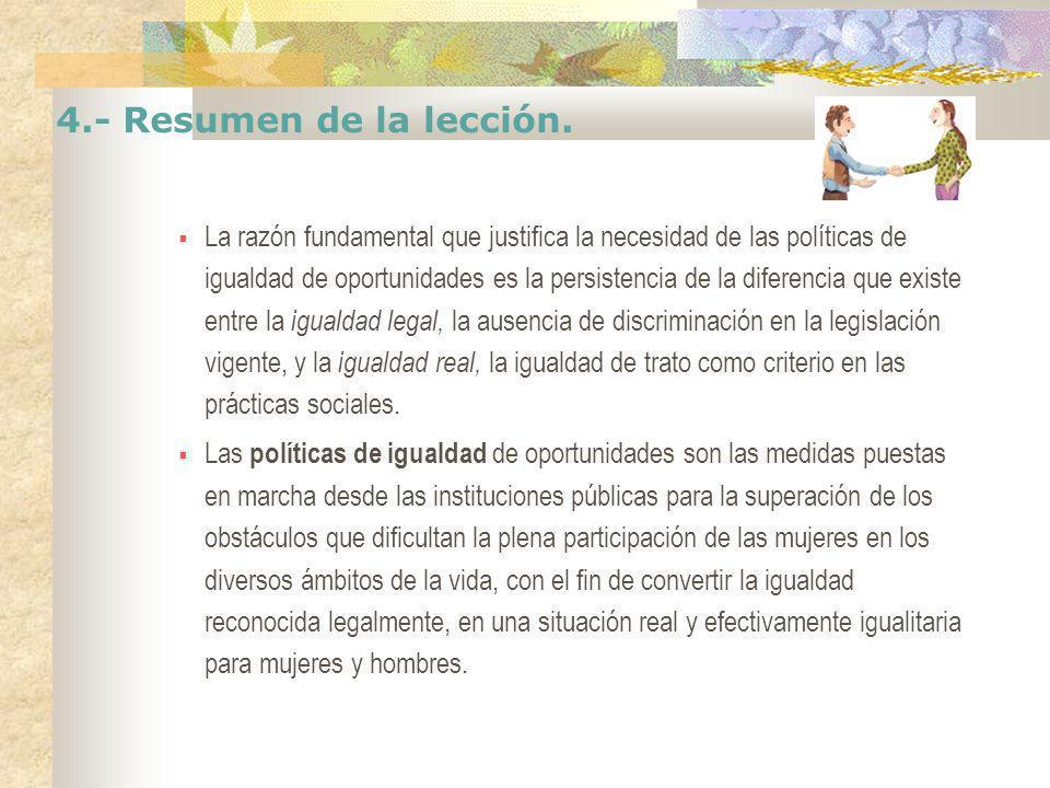 4.- Resumen de la lección.