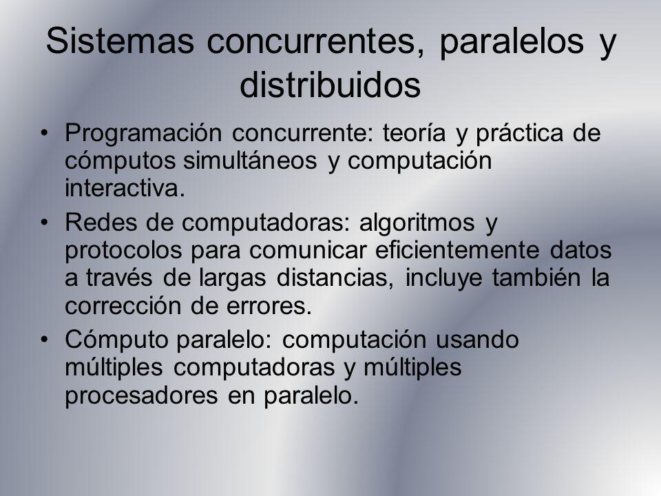 Sistemas concurrentes, paralelos y distribuidos