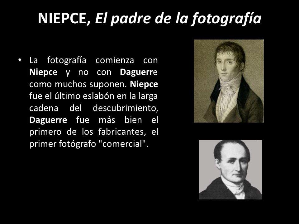 NIEPCE, El padre de la fotografía