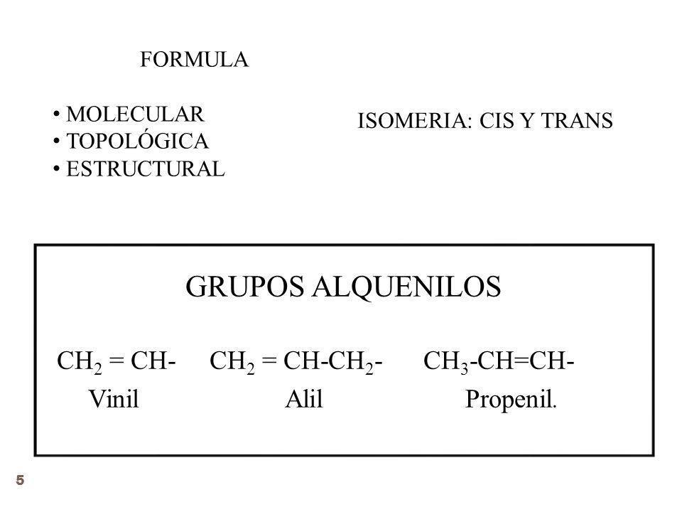 CH2 = CH- CH2 = CH-CH2- CH3-CH=CH-