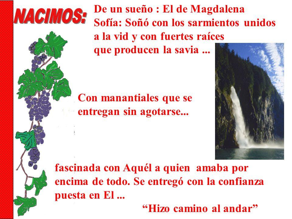NACIMOS: De un sueño : El de Magdalena