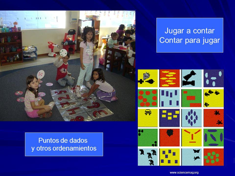 Jugar a contar Contar para jugar Puntos de dados y otros ordenamientos