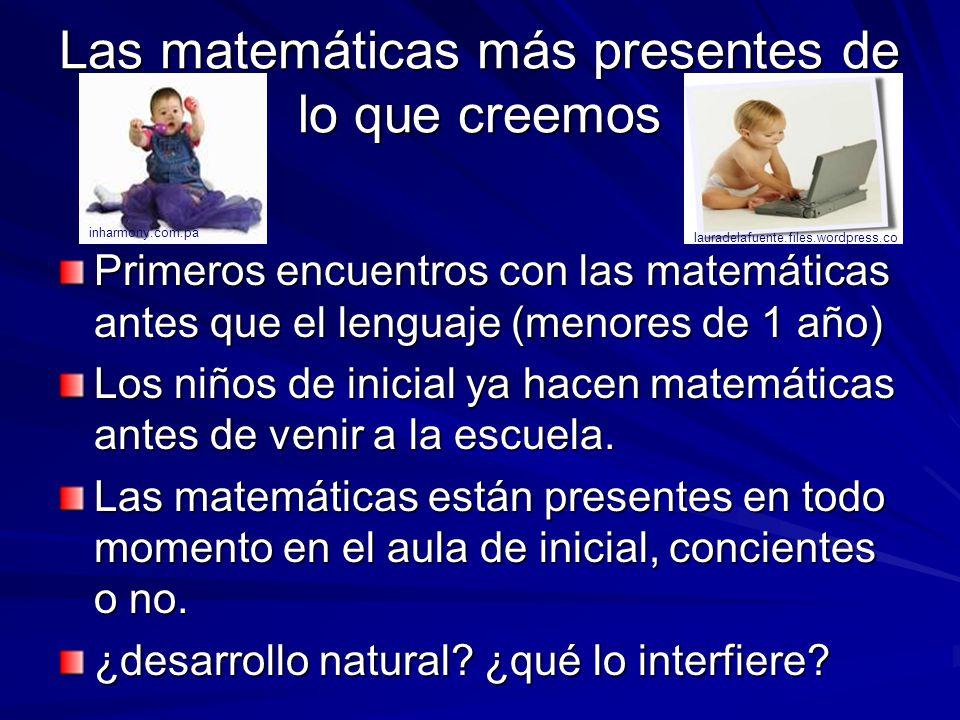 Las matemáticas más presentes de lo que creemos