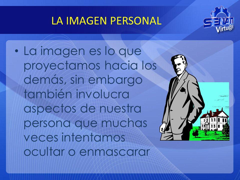 LA IMAGEN PERSONAL
