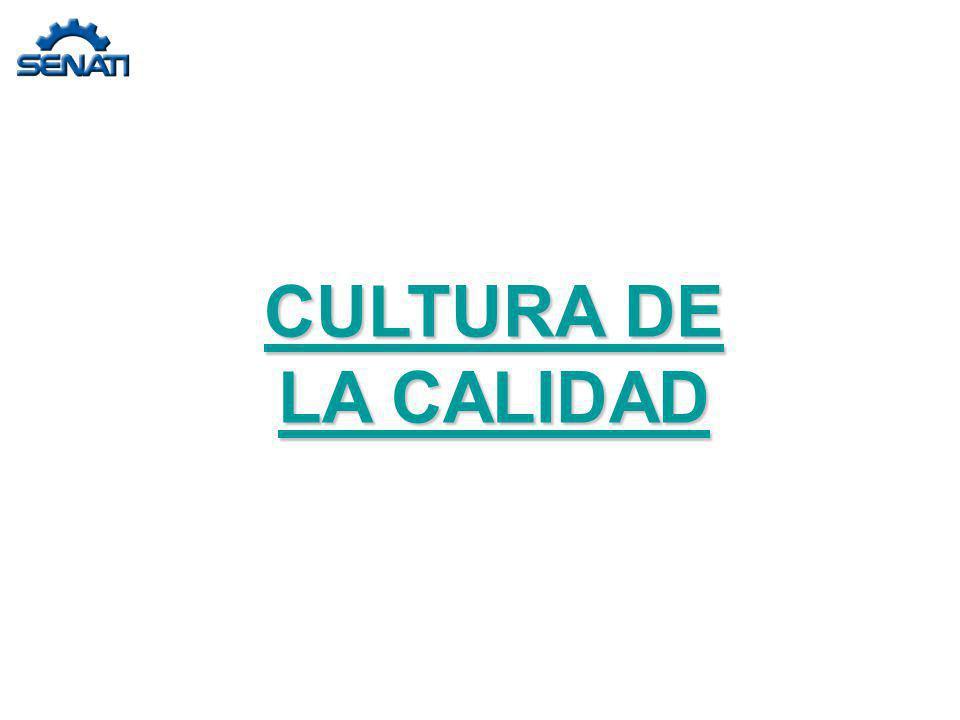 CULTURA DE LA CALIDAD